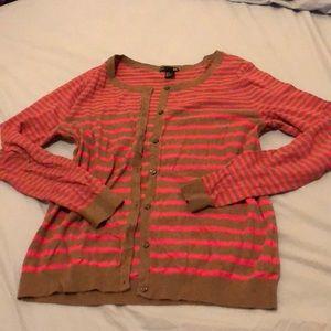 Fun striped cardigan